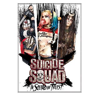 Suicide Squad Girls Only Magnet