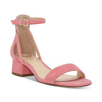 Vince Camuto Womens Shetana Leather Open Toe Casual Ankle Strap Sandals