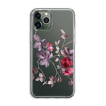 iPhone 11 Pro Max Funda transparente (Suave) - Bonitas flores