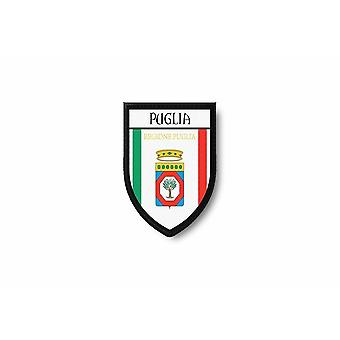 Patch Ecusson Termocollant Bord Brode Flag Prints Italy Puglia