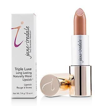 Jane Iredale Triple Luxe Long Lasting Naturally Moist Lipstick - # Tricia (neutral Nude) - 3.4g/0.12oz