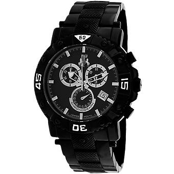 Jivago Men's Titan Black Dial Watch - JV9121