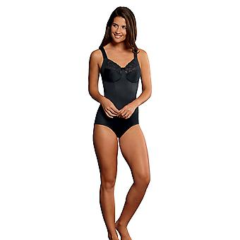 Anita 3523-001 femei ' s Comfort Lucia negru brodate non-Wired corselette
