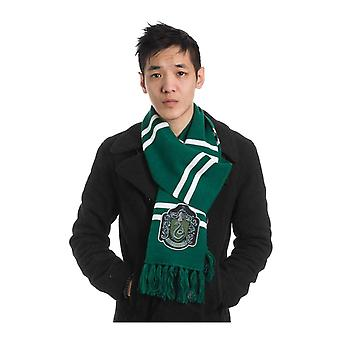 Harry Potter Scarf Slytherin House Crest logo new Official Knitted