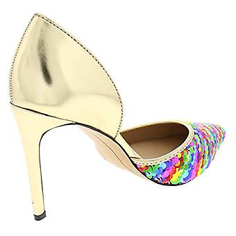 INC International Concepts Womens Koree Fabric Pointed Toe D-orsay Pumps