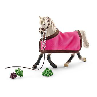 Schleich Horse Club Arab Mare Horse Toy Figure with Blanket (41447)