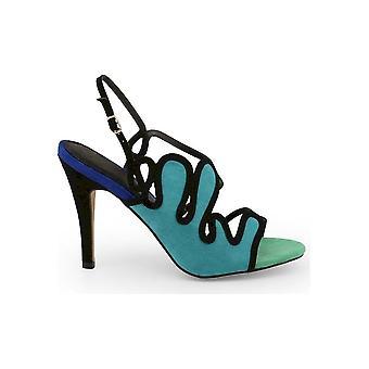 Arnaldo Toscani - Shoes - Sandal - 1218025_VERDE-BLU - Women - green,blue - EU 41