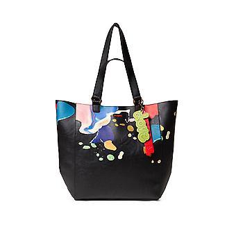 Desigual Women's Arty Cooper Colorado Shoulder Bag with Bright Paint Design