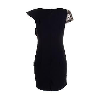 Darling vrouwen ' s goud zwart Celeste potlood jurk