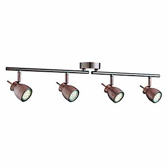 Rame a led regolabile 4 Light Spotlight Bar