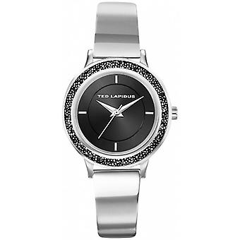 Watch Ted Lapidus A0728ANIW - steel bezel set with black woman