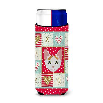 Japanese Bobtail Cat Michelob Ultra Hugger for slim cans
