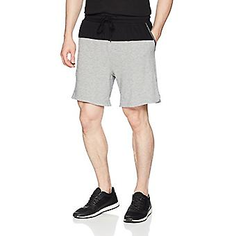 2(X)IST Men's Colorblock Short with Mesh Detail Shorts,, Black, Size Small