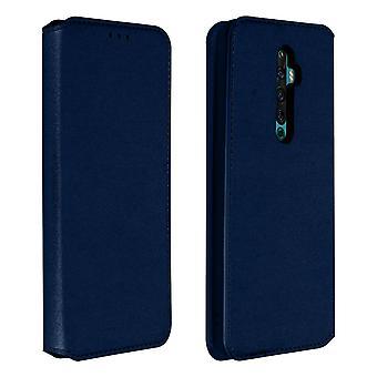 Slanke zaak, Classic Edition stand geval met kaartsleuf voor oppo Reno 2Z-blauw