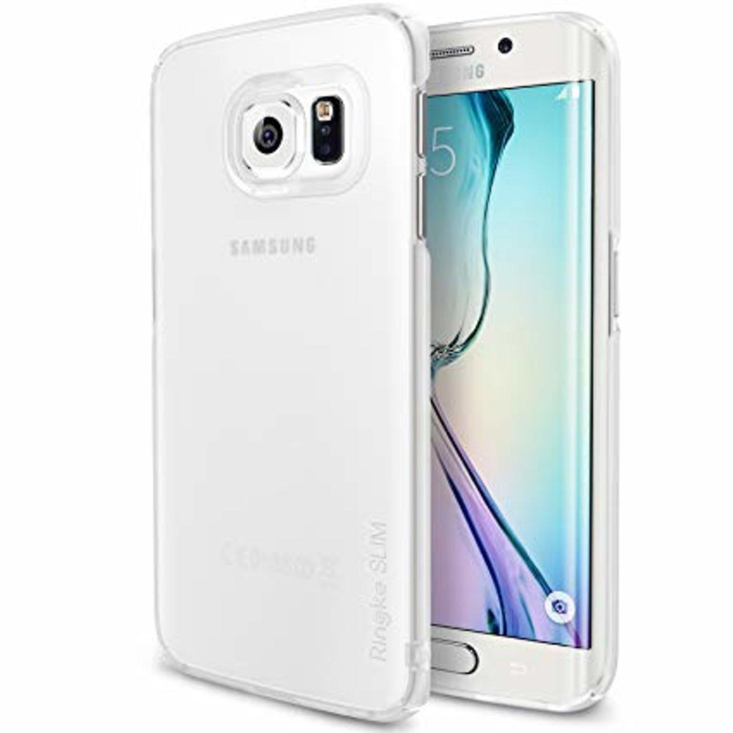 Mobilskal till Samsung Galaxy S6 edge Ultra Thin 0.4mm Vit