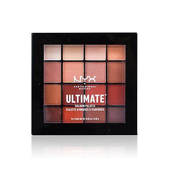 NYX Ultimate Shadow Palette - # Warm Neutrals 16x0.83g/0.02oz