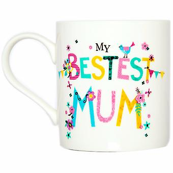 Simon Elvin My Bestest Mum Gift Boxed Mug