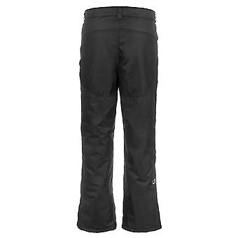 Lucky Bums Youth Snow Ski Pants with Reinforced Knees and, Black, Size Large