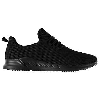 Fabric Mens Santo Runners Running Sports Shoes Trainers Sneakers Lace Up