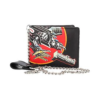 Judas Priest Screaming for Vengeance Bi-Fold Wallet with Chain