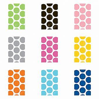 Amscan Polka Dot Party favör papperspåsar (10 Pack)