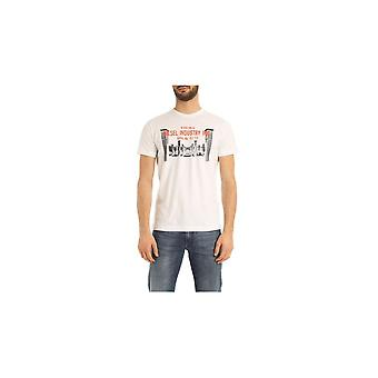 Diesel T-diego-s13 Graphic Logo White T-shirt