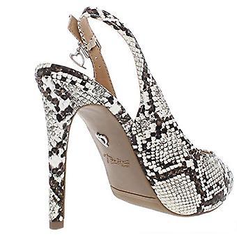 Thalia Sodi Womens Luzia Snake Open Toe Peep-Toe Heels