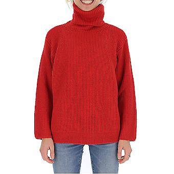 Red Valentino Sr0kcc034mul58 Women's Red Wool Sweater