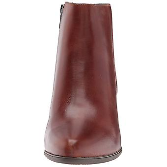 Rockport Womens CG8352 Leather Pointed Toe Ankle Fashion Boots