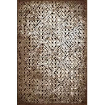 23& x 82& x 0.43& Lt. Ruskea polypropeeni/polyesteri juoksija matto