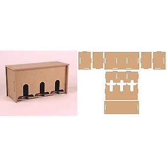 Pronty MDF 3D Teabox 460.423.740 216,4x83,6x110mm
