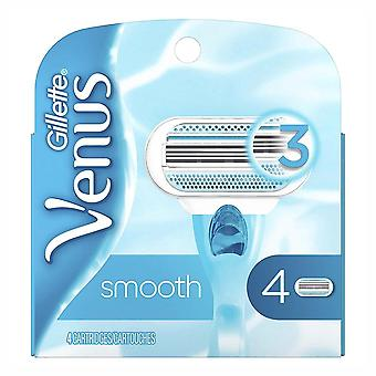 Gillette venus shaving cartridges, 4 ea