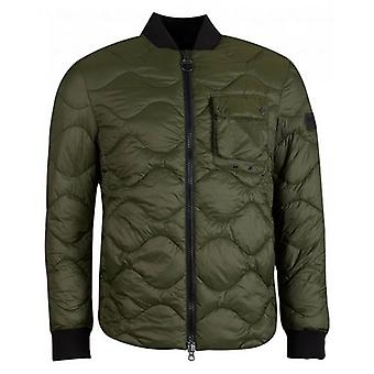 Barbour International Synon Snake Quilted Jacket
