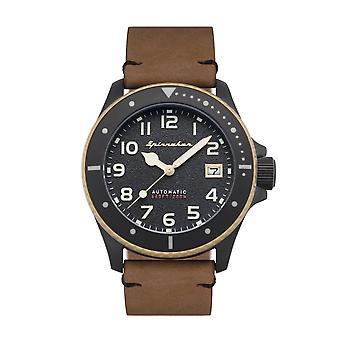 Spinnaker SP-5066-04 Gent's Spence Brown Strap Wristwatch