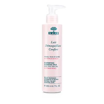 Comforting cleansing milk with rose petals (normal to dry, sensitive skin) 150854 200ml/6.7oz