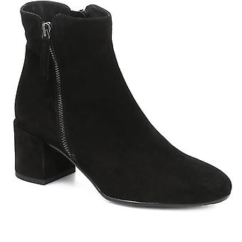 Jones Bootmaker Womens Heeled Suede Ankle Boot