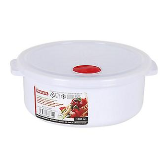 Lunch Box with Lid for Microwaves Privilege White/2750 ml