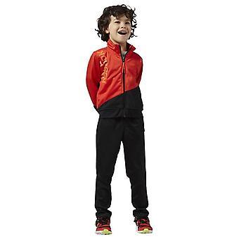 Kinder Trainingsanzug Reebok B ES Tric TS Rot Schwarz/L
