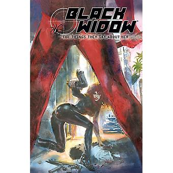 Black Widow The Things They Say About Her by Richard Morgan