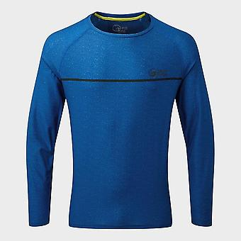 Neue North Ridge Men's Pave Active Long Sleeve Top Blau