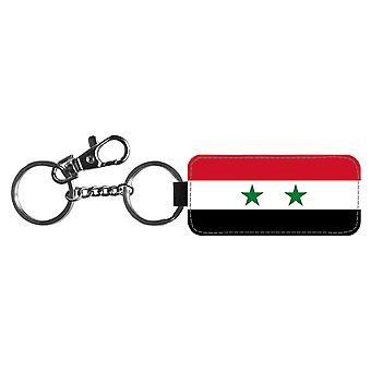 Syrien-Flagge Schlüsselanhänger