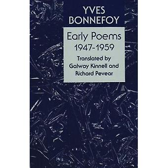 Early Poems 1947-1959 by Yves Bonnefoy - 9780821410486 Book