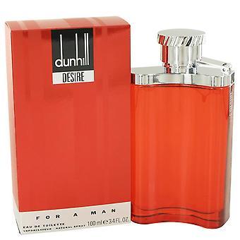 Pragnienie Eau De Toilette Spray przez Alfred Dunhill 3,4 uncji Eau De Parfum Spray