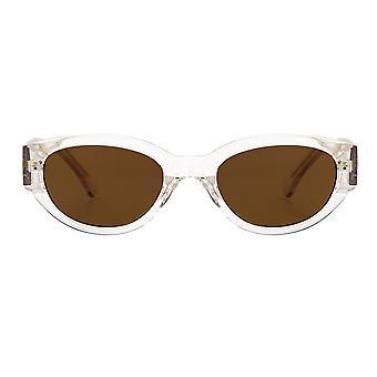A.Kjaerbede Winnie Crystal Transparent Sunglasses