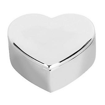 Orton West Schmuckstück Herzbox - Silber