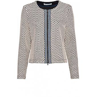 Bianca Embossed Spot Design Jacket