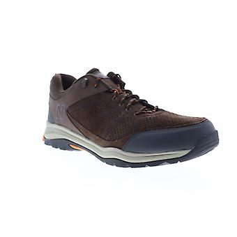 New Balance 1201  Mens Brown Extra Wide Suede Athletic Walking Shoes