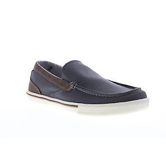 Tommy Bahama Calderon Venetiaanse Mens Gray Canvas Casual Loafers Schoenen