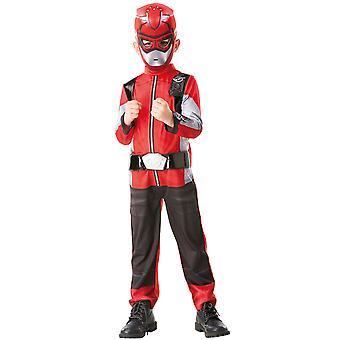 Jongens Red Morpher Kostuum Deluxe - Power Rangers