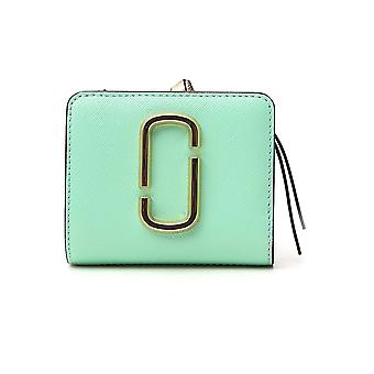 Marc Jacobs M0013360391 Women's Green Leather Wallet